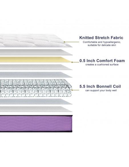 6 Inch spring mattress