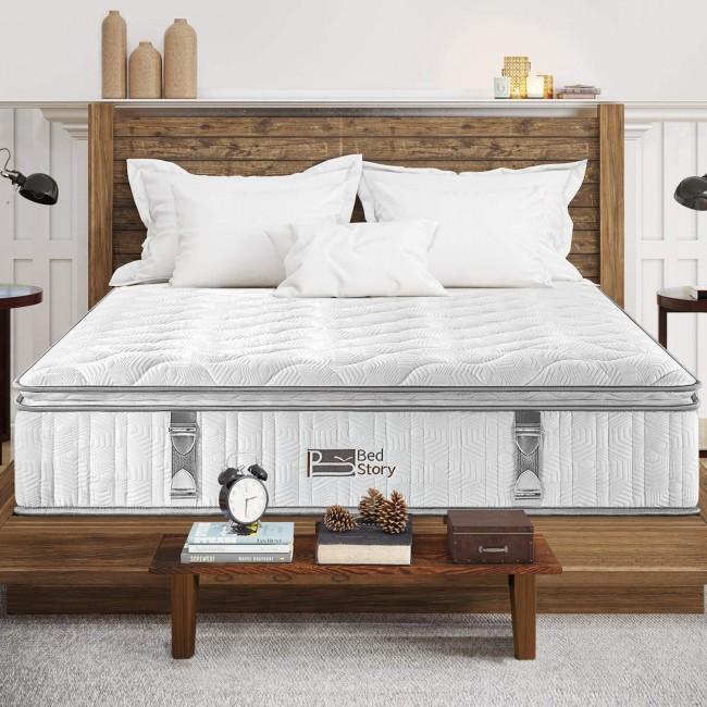 BedStory Double Mattress | Top Design 3D Breathable